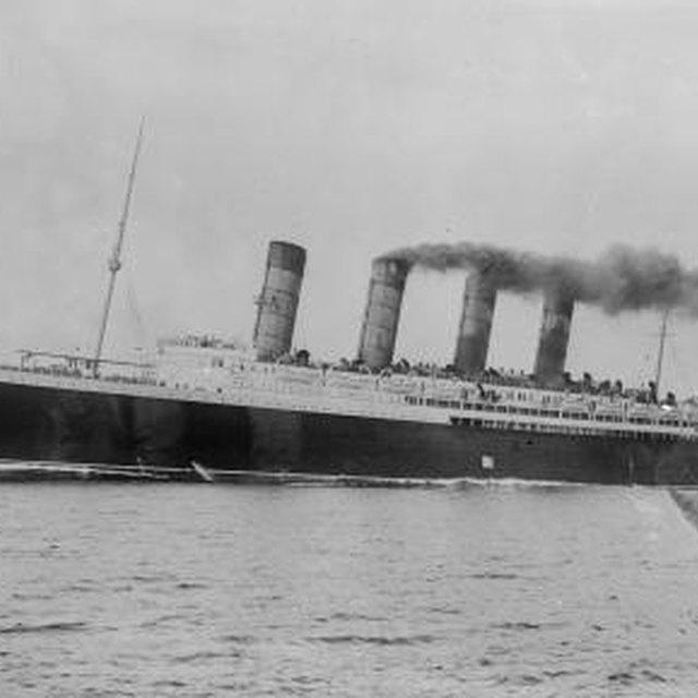 What Happened to the British Ocean Liner Lusitania?