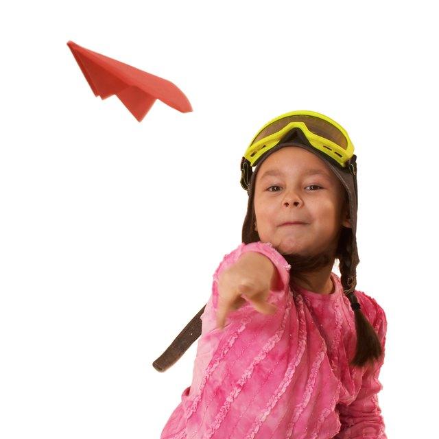 Preschool Activities With Plane Cutouts