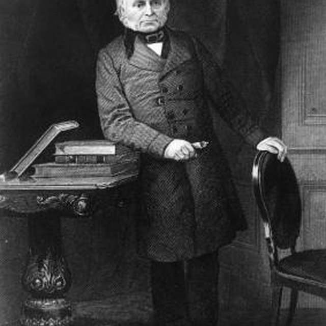 What Political Party Did John Quincy Adams Belong To?
