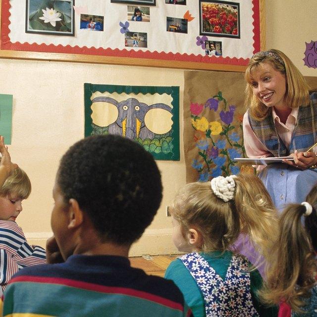 List of Reading Strategies Taught in Kindergarten