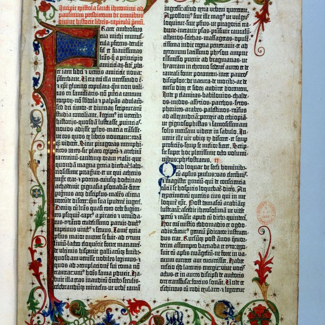 Sacred Texts & Writing in Christianity