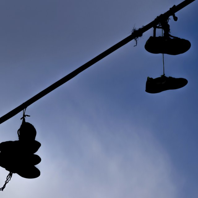 What Do Shoes on Power Lines Mean?