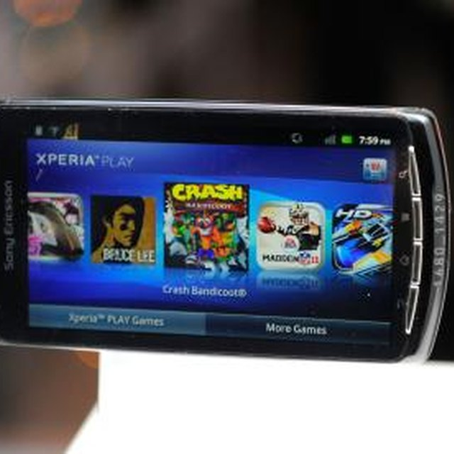 How to Fix the Xperia Play Touchscreen That's Not Working