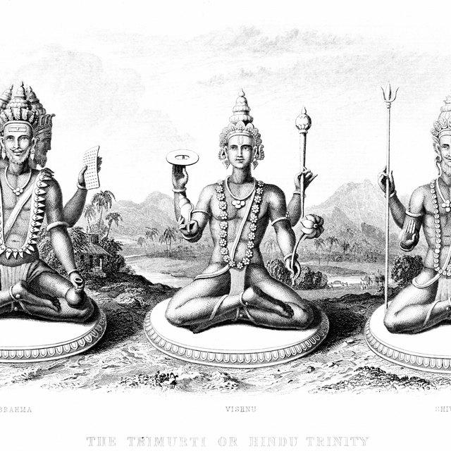Hindu God of Creation & Destruction