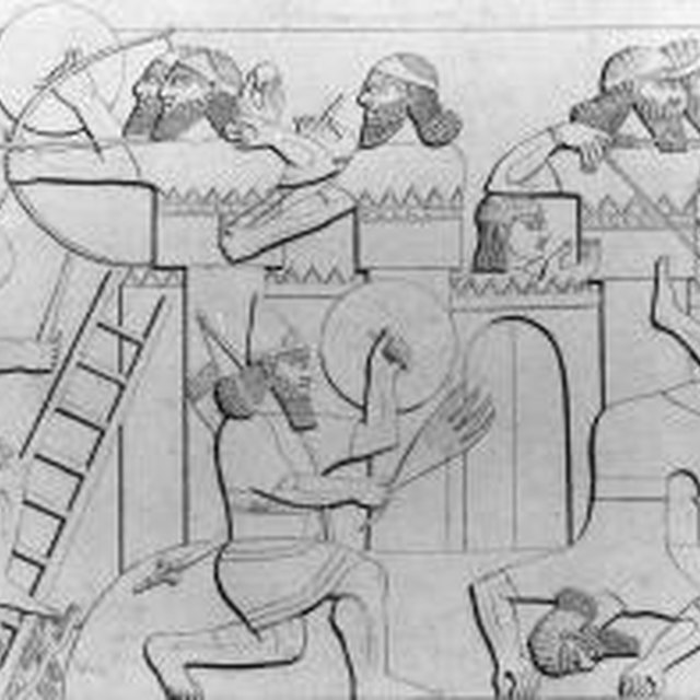 What Kinds of Weapons Did the Ancient Assyrians Use?