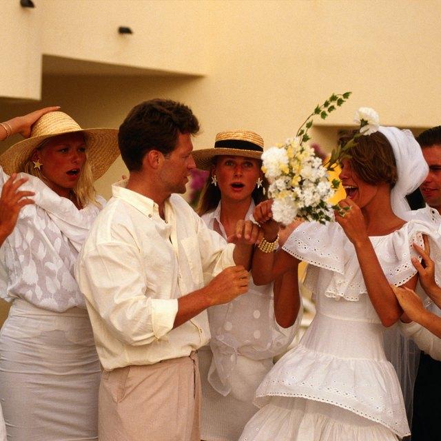 Boning the beautiful bride