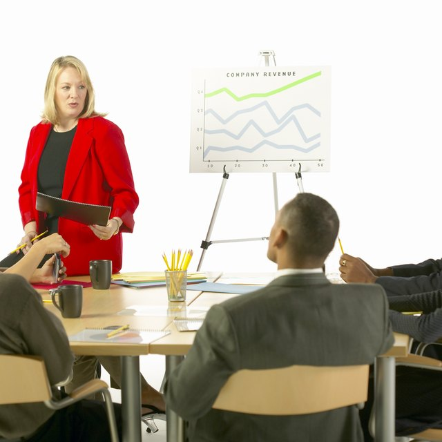 What Is the Difference Between a Speech & a Presentation?