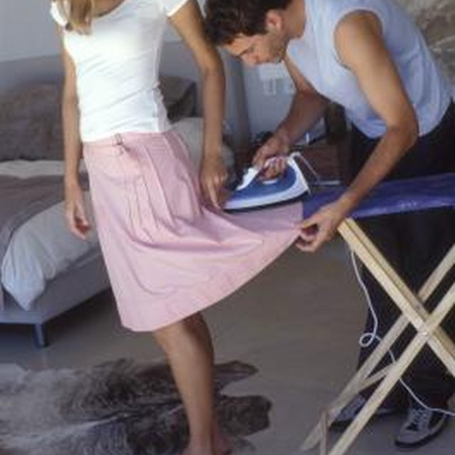 How to Iron a Skirt & Not Have Iron Shine