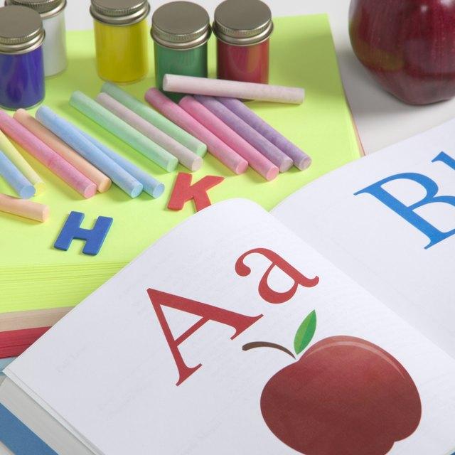 Kindergarten Vocabulary Reinforcement Activities