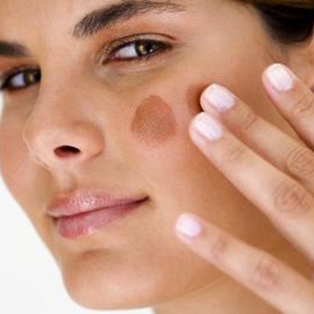 How to Blend a Foundation That Is Darker Than Your Natural Color?