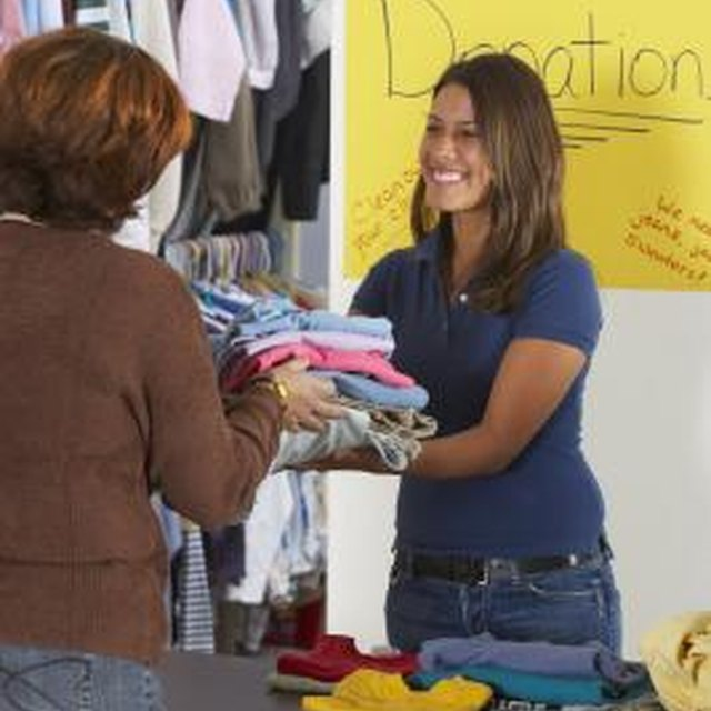 What Do Charities Do With Donated Goods?