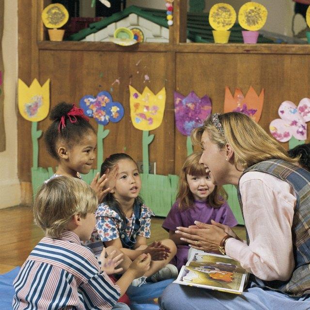 Language-Related Curricular Goals for Kindergarten