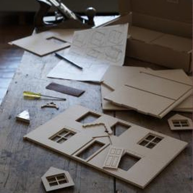 How to Build a Cardboard House for a School Project