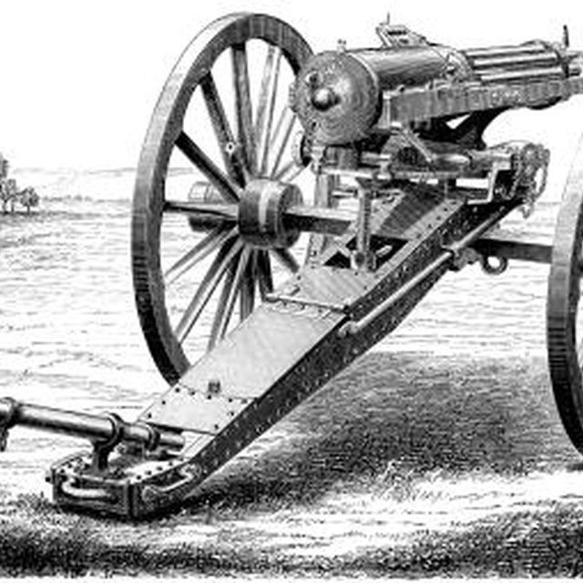 New Weapons That Were Introduced During the Civil War