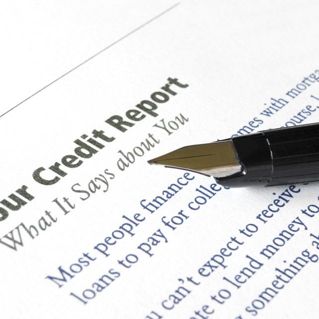 What Are Public Records On A Credit Report?