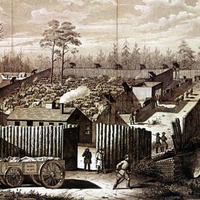 Housing for Prisoners of War in the Civil War