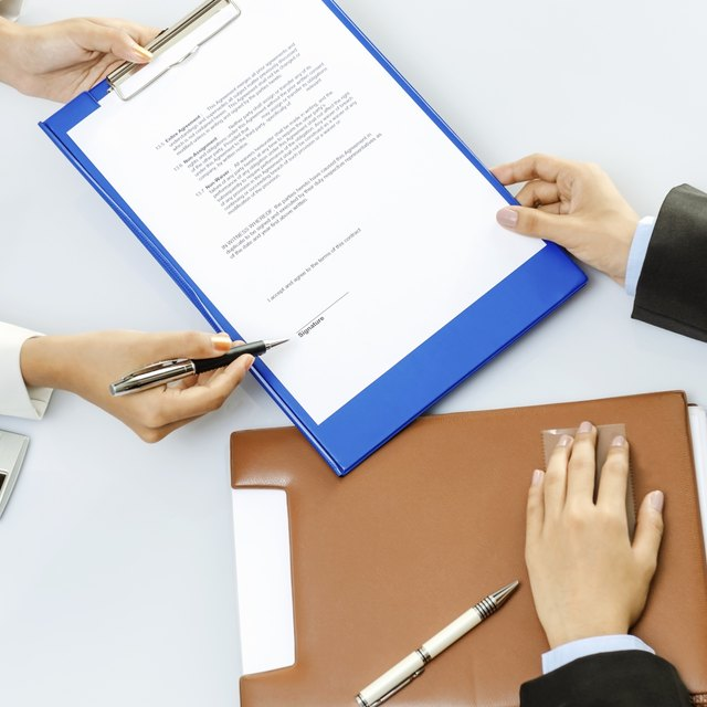 How to Write an Amendment to a Contract
