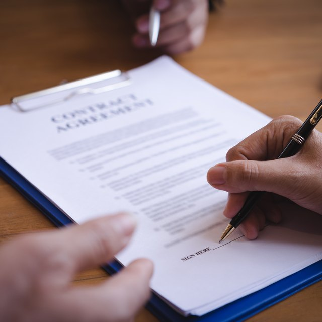 Types of Contract Agreements