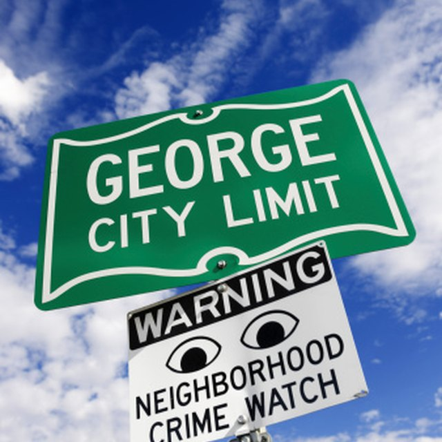 How to Write a Neighborhood Watch Letter