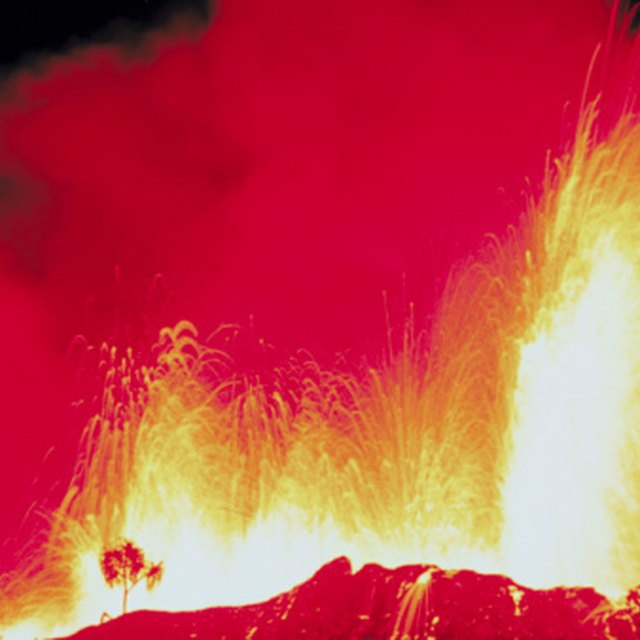 Volcanoes That Have Erupted in the Last 100 Years | Sciencing
