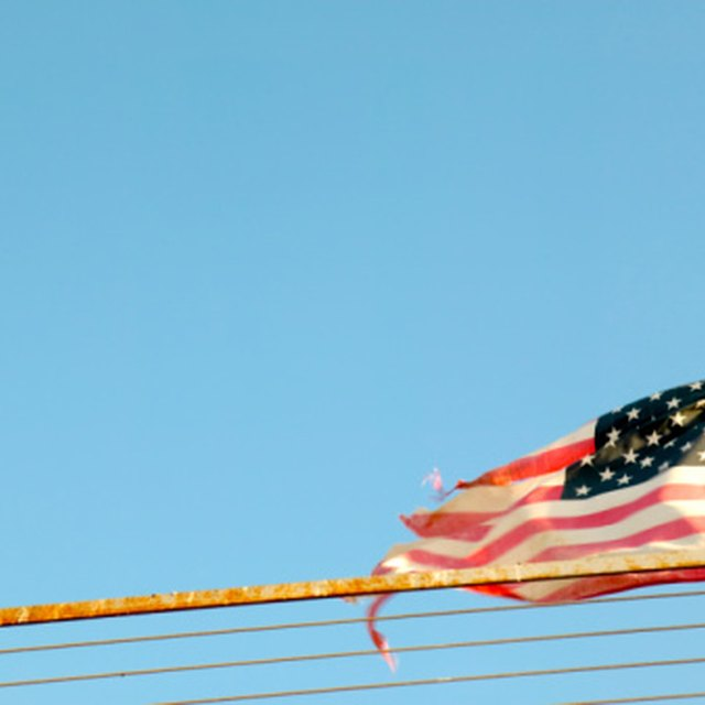 What Groups Dispose of Old American Flags?