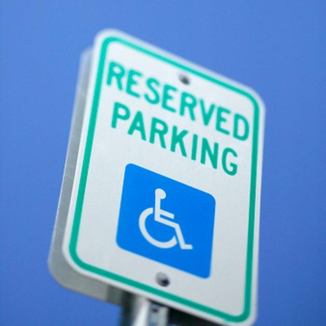 Parking Lot Handicap Spot Specifications