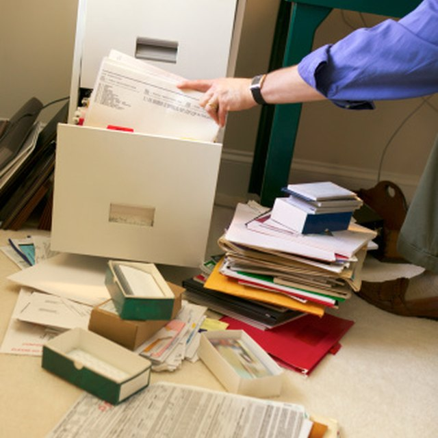 How to Organize Your Personal Papers and Home Office