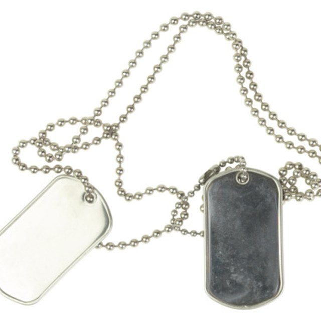 How to Get Real Army Dog Tags