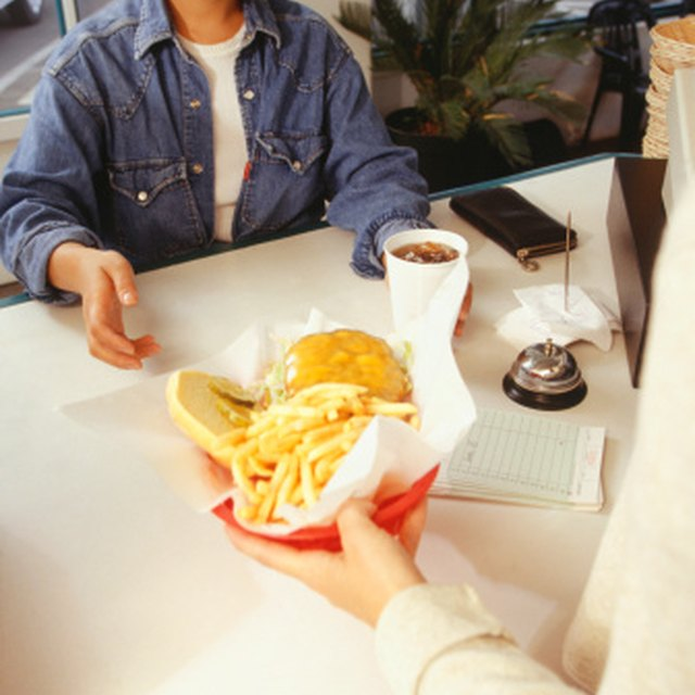 How to Make a Menu for a Fast-Food Restaurant