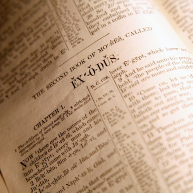 What Bodies of Water Are Mentioned in the Bible?