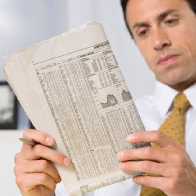 List of Financial Ratios