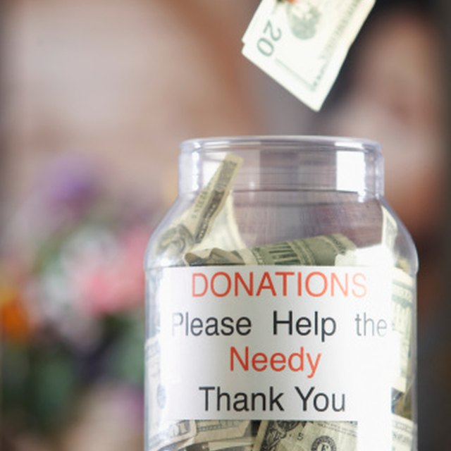 Do You Have to Pay Income Taxes on Money Received From a Fund-Raiser?