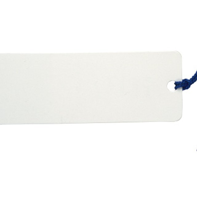 Do it Yourself Bookmark Template