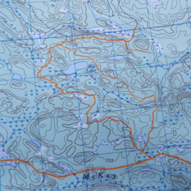 Basics Of Topographical Map Reading For Kids Sciencing
