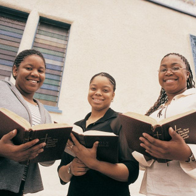 Topics & Scriptures Used for Women in Christian Conferences