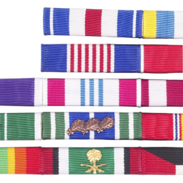 How to Correctly Wear Military Ribbons in Order