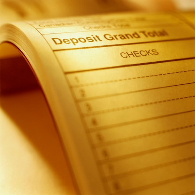 How to Prepare a Bank Deposit