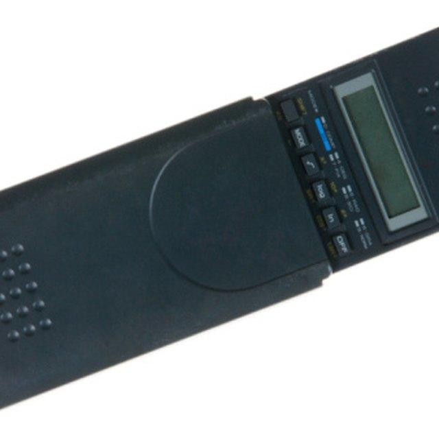 Instructions for a Sharp EL-2192RII Calculator