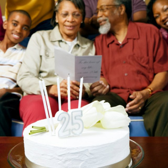 Ideas for Activities for Church Anniversaries