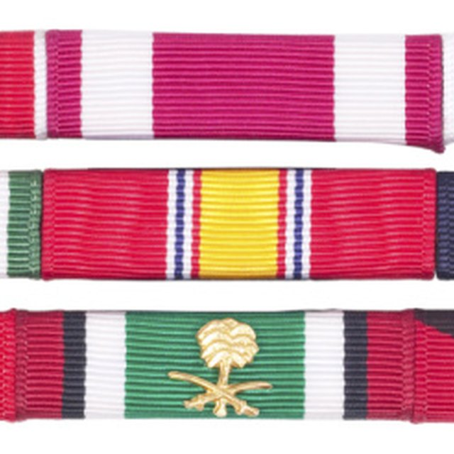 Military Ribbon Colors