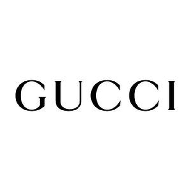 54775fa3e4dfa The traditional Gucci logo is written in all caps. Also, if you look  closely you will notice that the font is sans-serif, meaning it does not  have the small ...