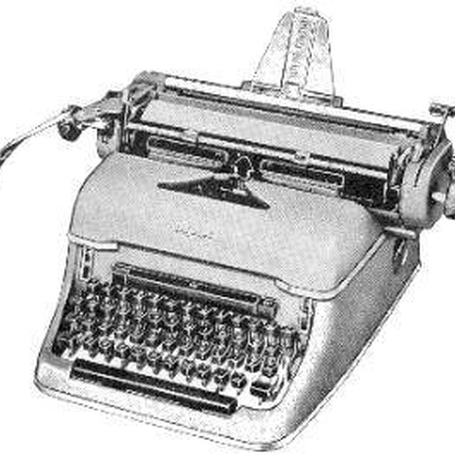 How Does a Typewriter Function?