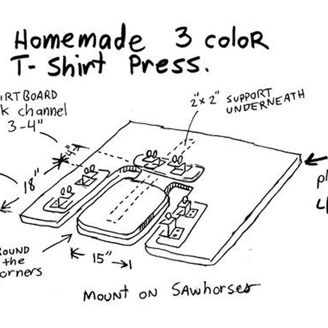 How to Build a T-Shirt Printing Machine