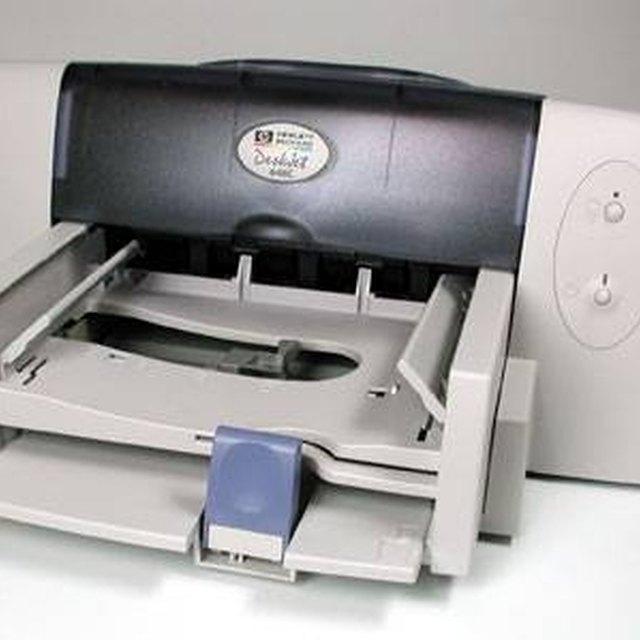 How to Clean an HP Deskjet D4360