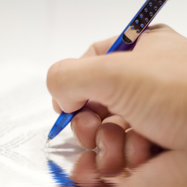 How to File a Deed of Trust in Washington State