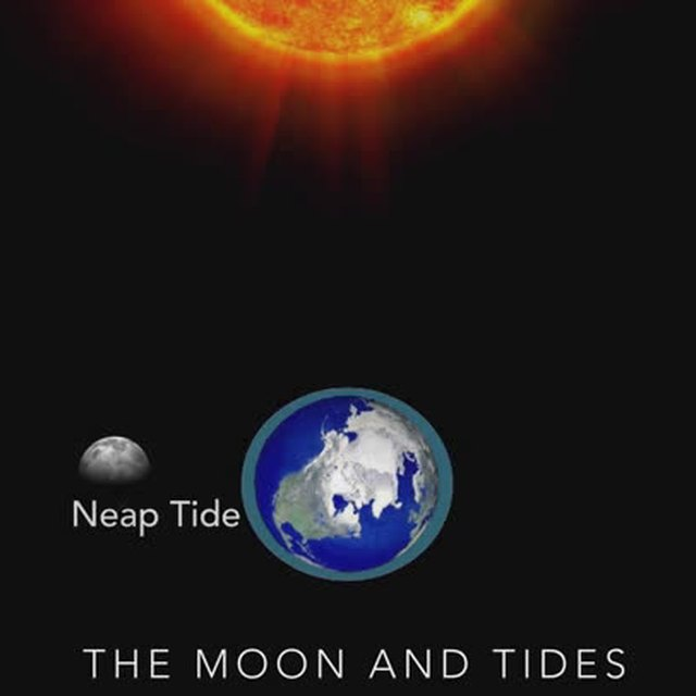 What Kind of Tides Occur When the Moon & Sun Are at Right Angles?