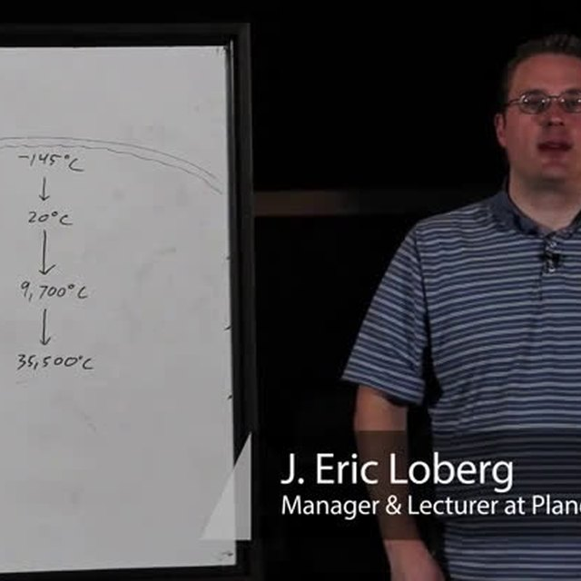 What Are the Average High & Low Temperatures on Planet Jupiter?