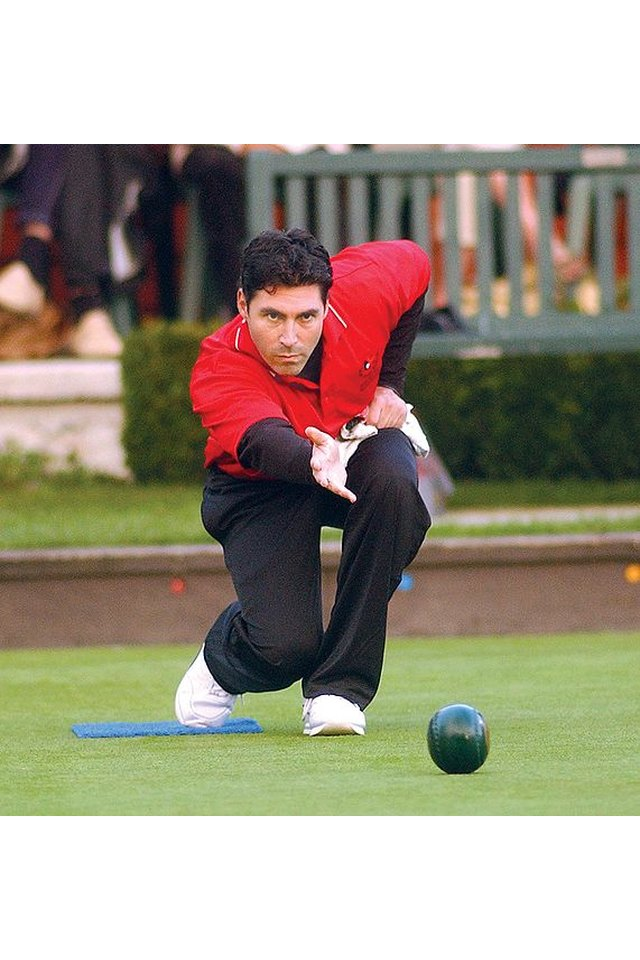 Lawn Bowls Technique