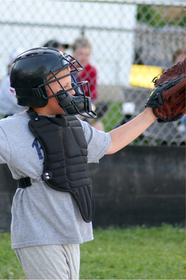Youth Baseball Catcher Drills