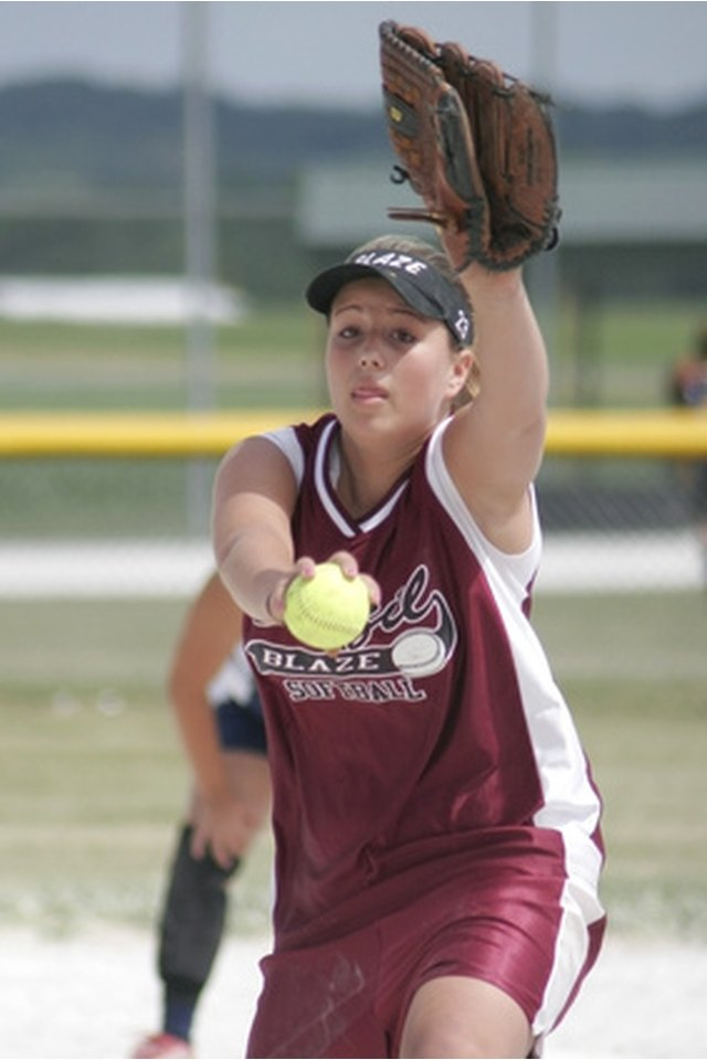 Official ASA Softball Rules on Pitching